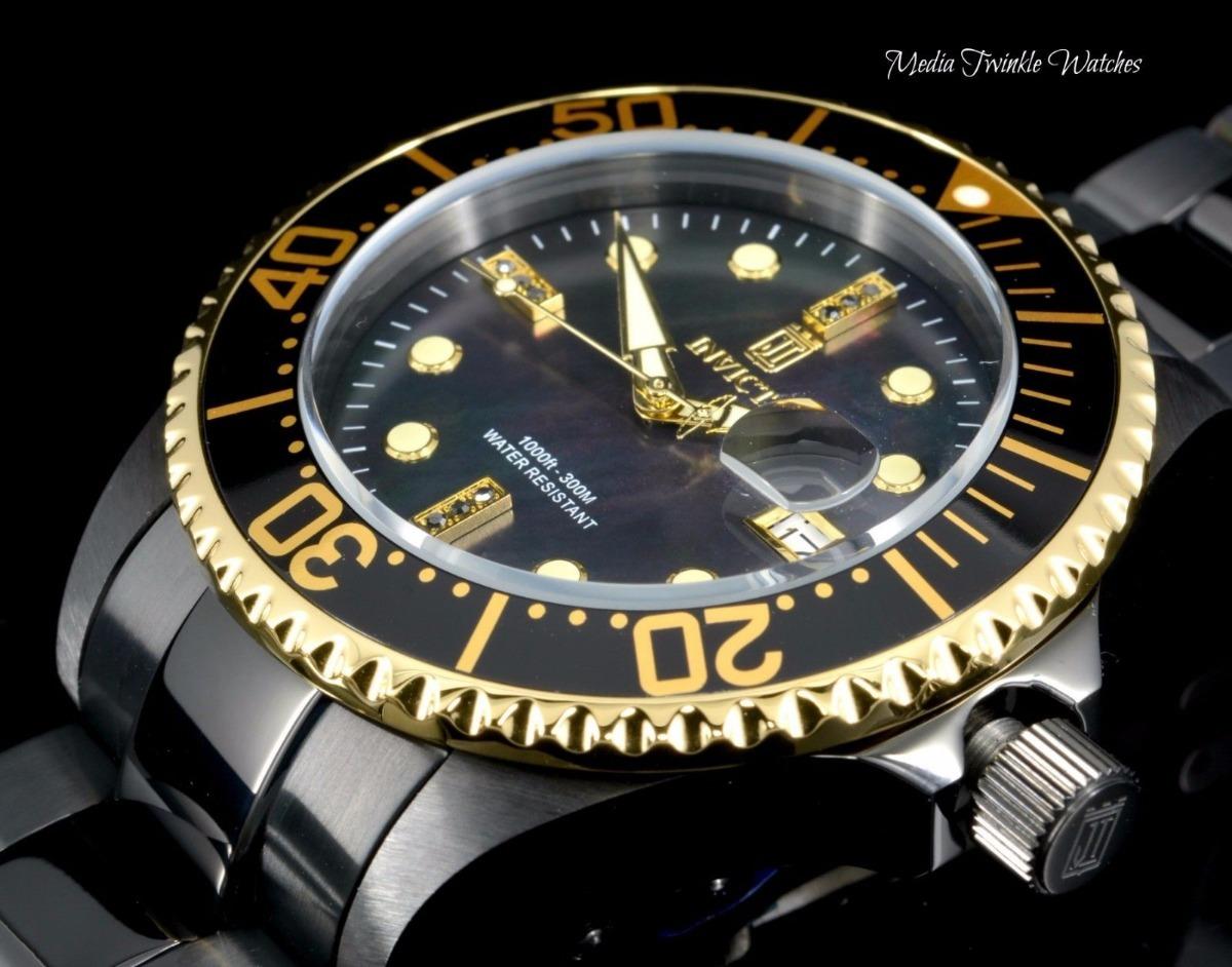 63a1a4b9e4a invicta grand diver jt automatico diamantes rolex tissot ax. Carregando  zoom.