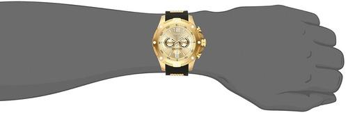 invicta hombre 19660 force reloj acero inoxidable dorado