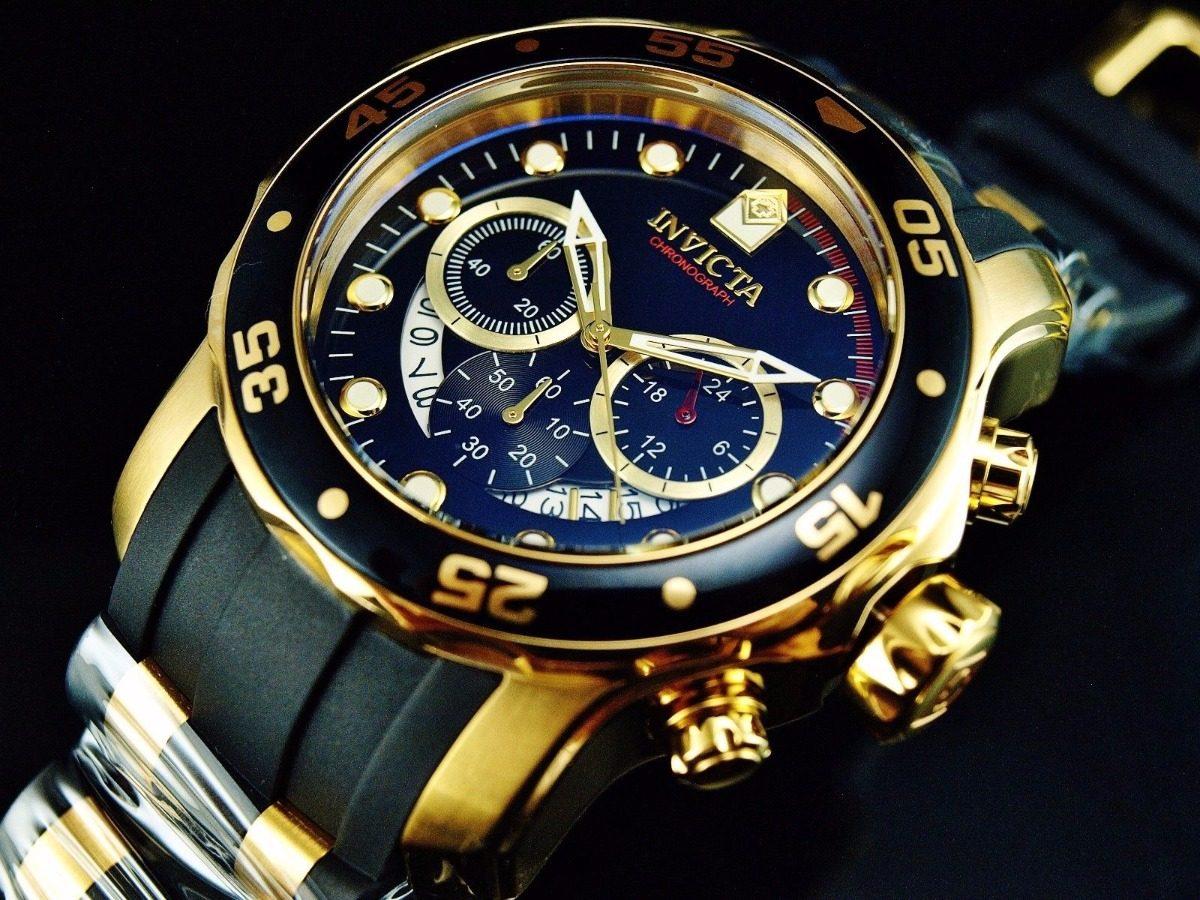 72d7963a766d invicta hombre 6981 pro diver reloj cronógrafo 18k oro 48mm. Cargando zoom.
