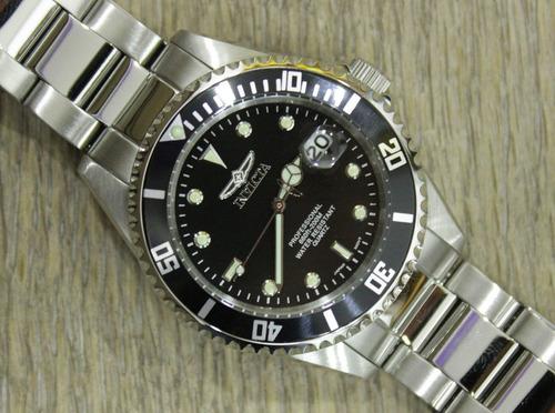 invicta hombre 8932ob pro diver reloj acero inox sumergible