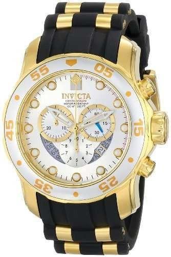 invicta hombres 6985 pro diver collection cronografo plata d