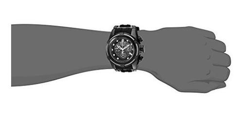 invicta  jason taylor del acero inoxidable y silicona reloj