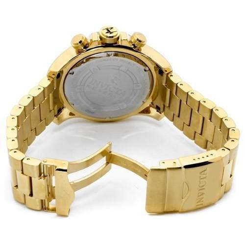 f60943a2eea Relógio Invicta 6469 Masculino Dourado Azul Caixa Original - R  479 ...