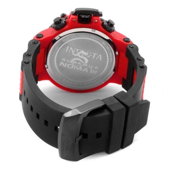 60f15d386ed invicta masculino relógio · relógio invicta subaqua noma iii 0938 vermelho  masculino. Carregando zoom.