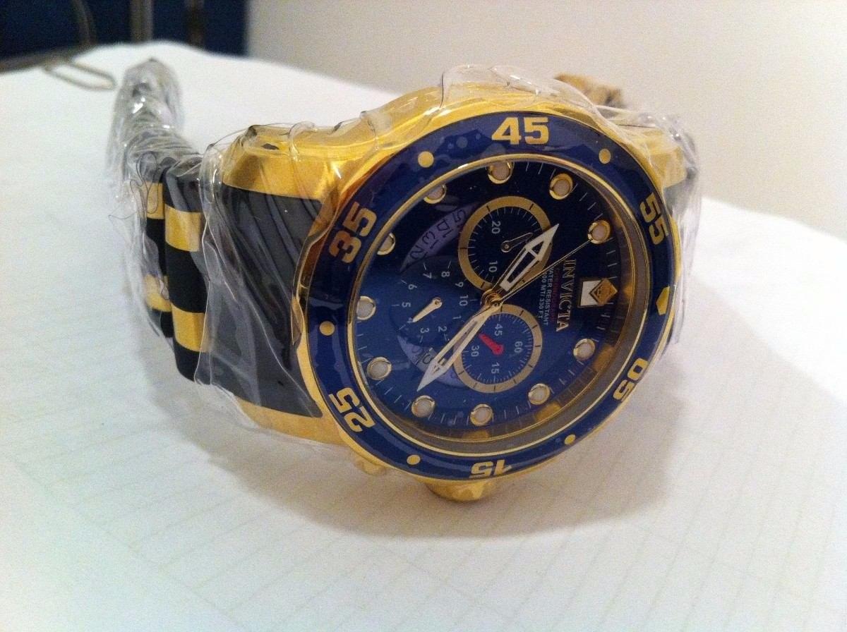 56199757097 Relógio Invicta Pro Diver 6983 Dourado Masculino Completo - R  489 ...