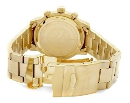 invicta men's 1205  ii collection  18k gold-plated watch