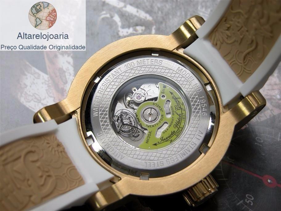 eb93c976416 Carregando zoom... relógio invicta yakuza automatico original puls branca  19546