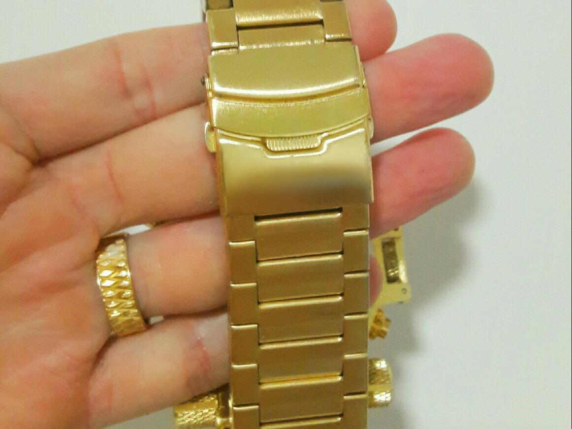 a831e4da838 Invicta Ouro Relógio Masculino Barato Digital Pulseira Luxo - R  319 ...
