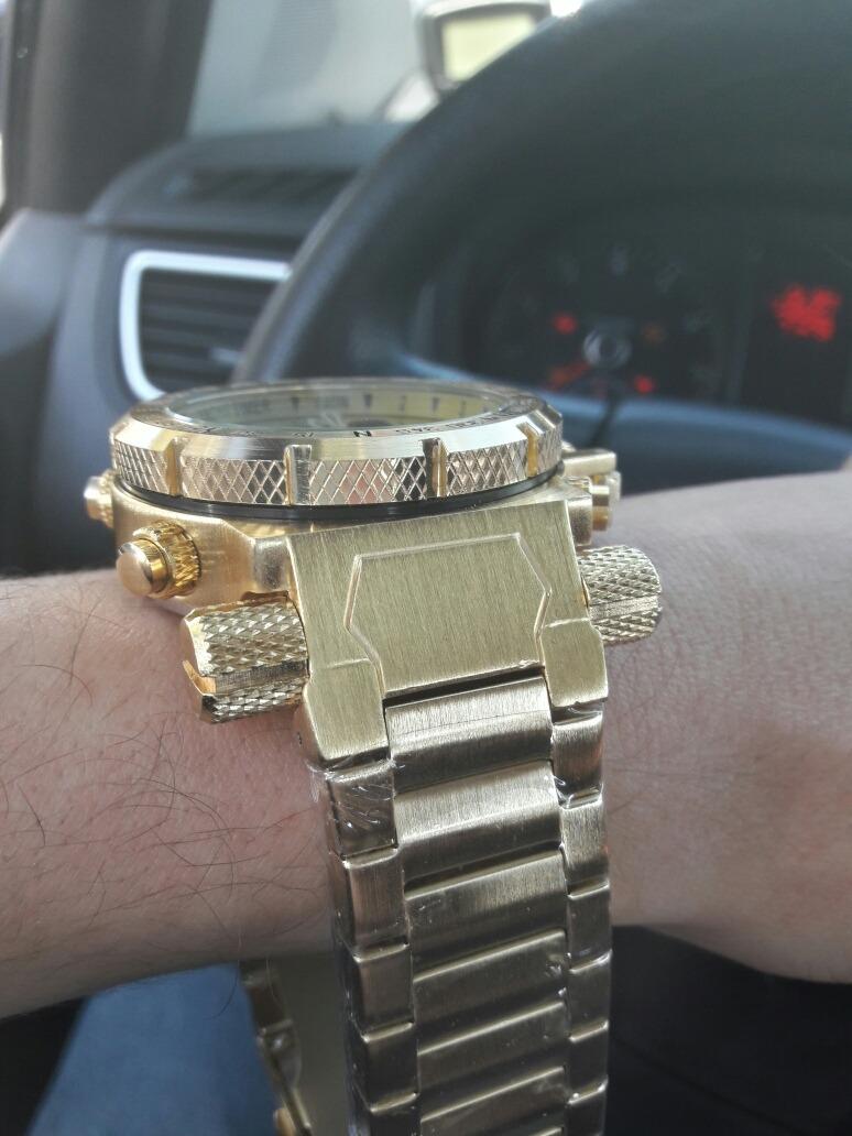 d419f40dfb2 invicta relógio masculino barato digital f. dourado pulseira · invicta  relógio masculino. Carregando zoom.