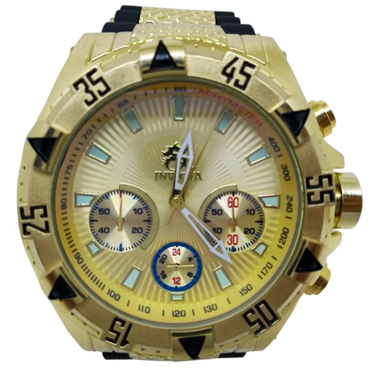 6e2d7f8cb9e invicta relógio masculino barato prova d  água funcional ! Carregando zoom.