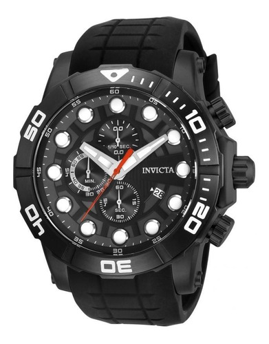 invicta - reloj 28273 sea hunter stainless steel quartz para