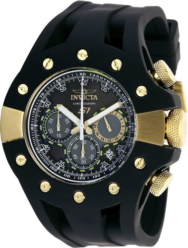invicta - reloj 28567 s1 rally stainless steel quartz para h