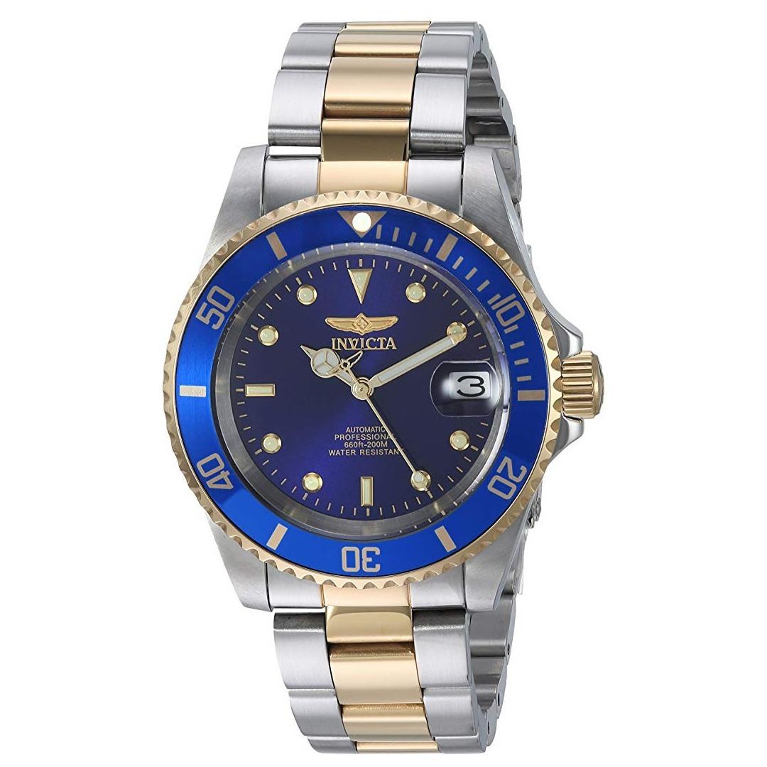 b2aa7f94b599 invicta reloj automático 8928ob pro driver baño oro 23k. Cargando zoom.