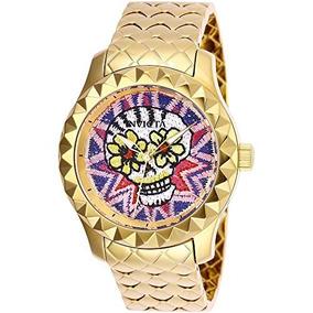 921fa18332e5 Reloj Ecos Quartz Mujer Mujeres Clasicos Invicta - Relojes Pulsera ...