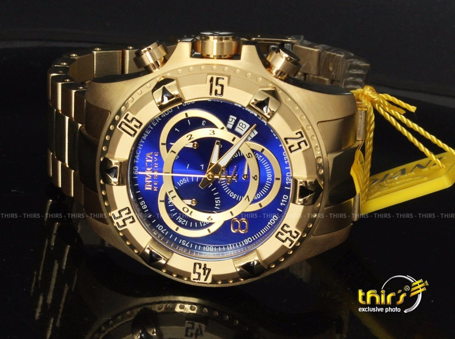 84f1109519d invicta reserve excursion 6469 bh a ouro 18k original raro. Carregando zoom.