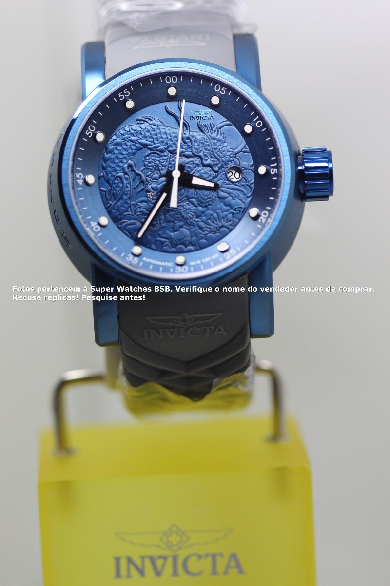 1d960d90e13 invicta s1 yakuza azul 18214 1000% original cuidado replica! Carregando  zoom.
