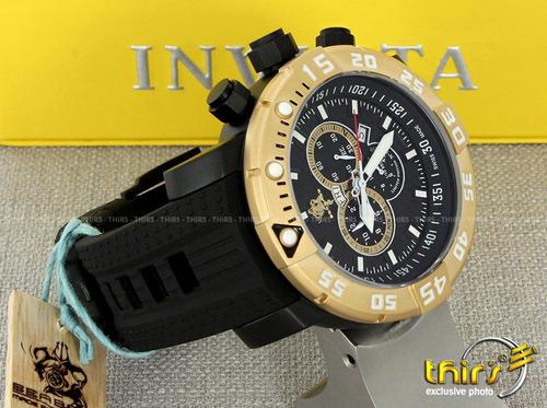 invicta sea base 14286- ed. limitada - 53mm - titanium origi