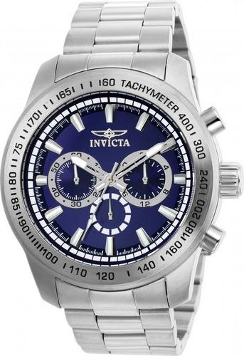 invicta speedway 21795 cronografo reloj hombre 48mm
