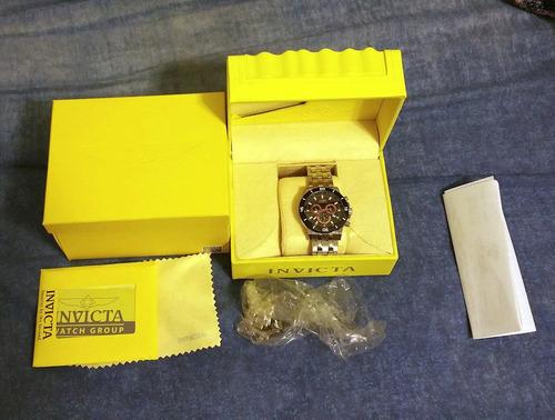 invicta watch specialty analog quartz silver