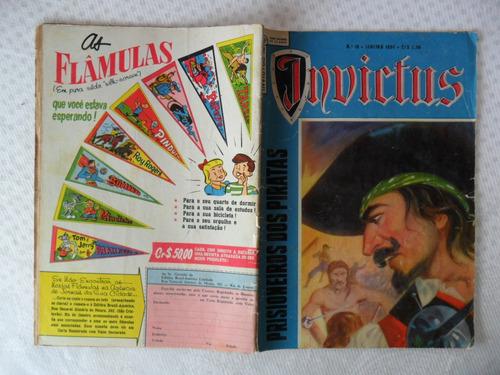 invictus! nº 10! jan - 1958 - ebal!