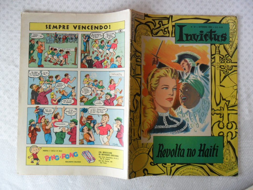 invictus! nº 30! set - 1959 - ebal!