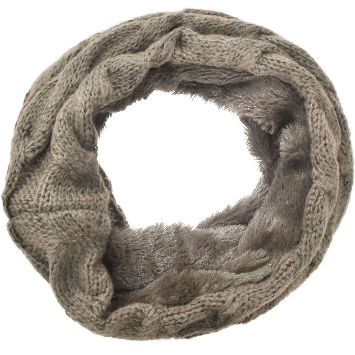 Invierno Calor Polar Mujer Forrado Cuello... (coffee_fur) - $ 22.990 ...