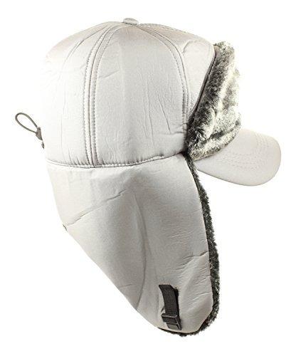 invierno rusos earflap estilo sombreros de poliéster trappe