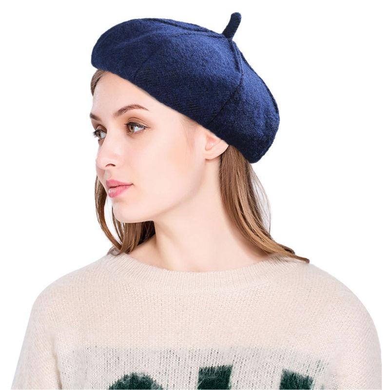 invierno sombrero moda señora sombreros us boinas... (gray). Cargando zoom. f4e7312c830