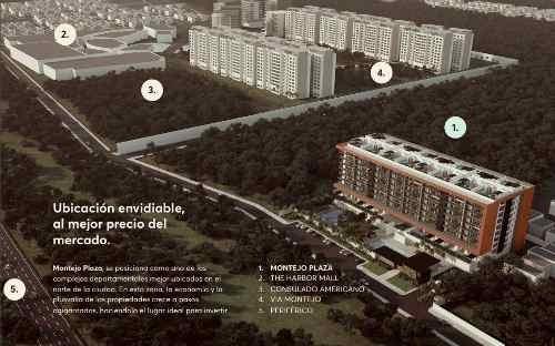 invierte en departamentos de preventa en montejo plaza. mod. garden house