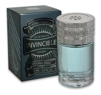 invincible for men new brand edt - 100ml - (com selo adipec)