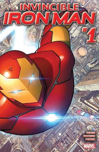 invincible iron man #1 (2015) marvel