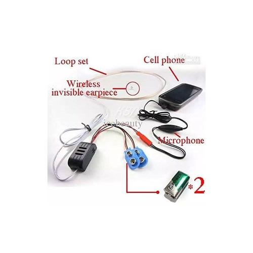 invisible secret spy auricular auricular nano + envio gratis