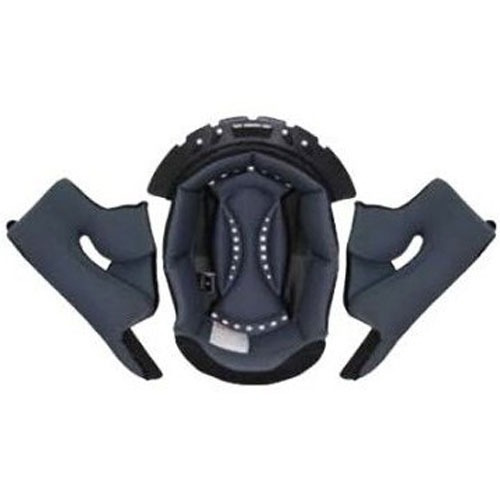 invisibles negra p/casco scorpion vx-r70 2xl kwikwick