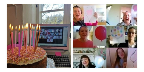 invita a famosos para festejar tu cumple por videollamada