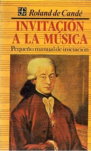 invitación a la música - de candé - manual iniciación - b205