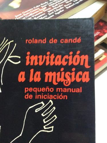 invitación a la música roland de cande