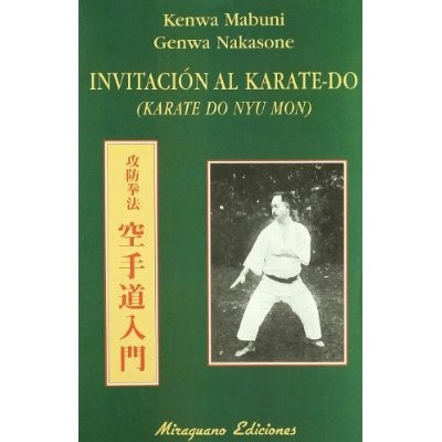 Karate Do Nyu Mon, manual de karate do shito ryu