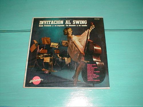 invitación al swing ernie freeman y su orquesta vinilo