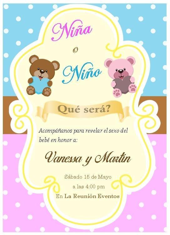 e1e1f729d2dcb Invitacion Baby Shower  Niña Niño Unisex -   45.00 en Mercado Libre
