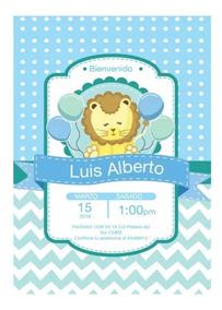 Tarjeta Invitacion Infantil Invitaciones Y Tarjetas Baby