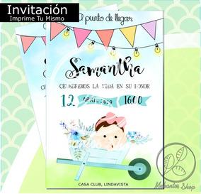 Holcamara Medio Formato Invitaciones Y Tarjetas De Baby