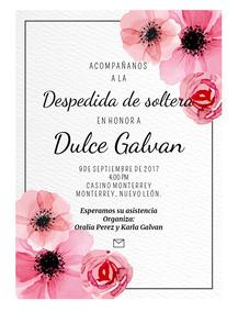 Invitacion Despedida De Soltera