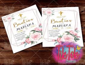 5c574e360d Invitacion Para Bautizo Para Imprimir - Invitaciones para Fiestas ...