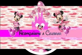 Bolso Minnie Mouse Invitaciones Y Tarjetas De Cumpleaños