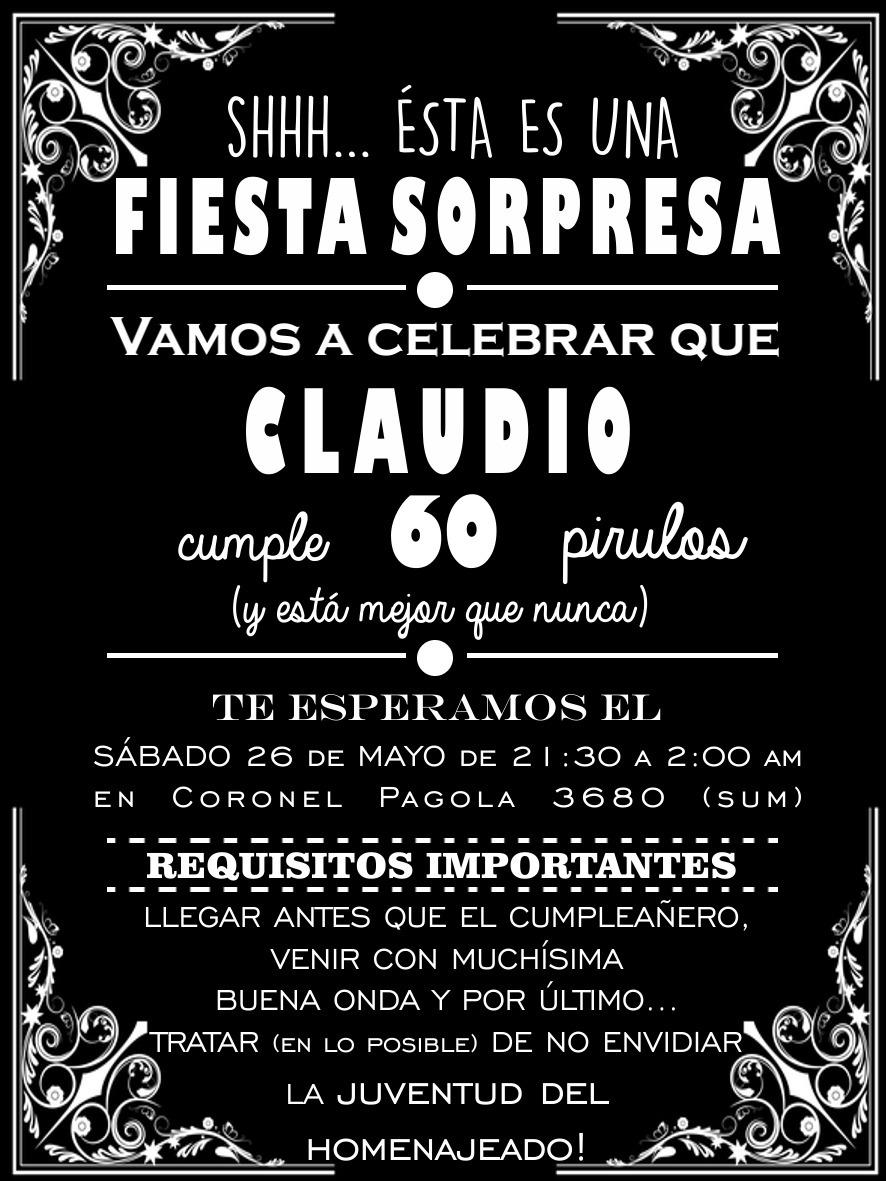 Invitacion De Fiesta De Cumpleanos Para Adultos