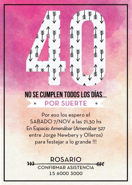 Invitación Digital Diseño Cumpleaños Save The Day Whats App 500