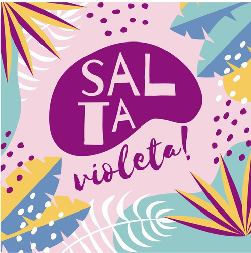 invitación digital fortnite - salta violeta