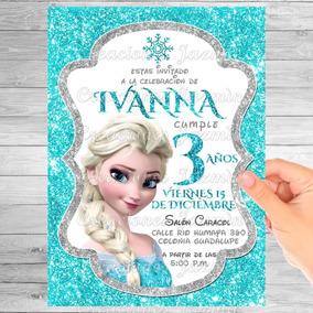 Invitación Digital Frozen