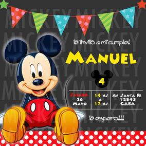 Invitacion Digital Mickey Mouse