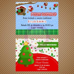 Invitacion Digital Navidad Posada Navideña